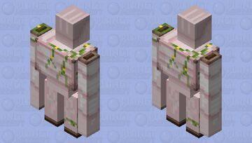 April Fools Iron Golem Minecraft Mob Skin