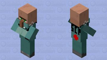 SCP Doctor Minecraft Mob Skin