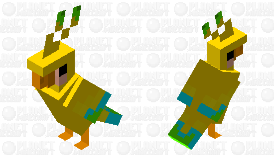 Canary Minecraft Skin
