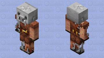 Eroded Piglin Minecraft Mob Skin