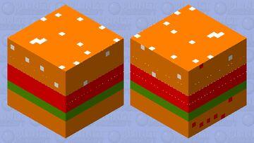 Burger slime Minecraft Mob Skin