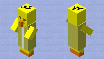 Angry birds villager 2 Minecraft Mob Skin