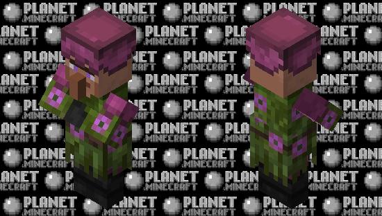 Lush Villager Minecraft Skin