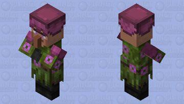 Lush Villager Minecraft Mob Skin