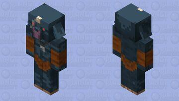 Blue Bokoblin (Breath Of The Wild) Minecraft Mob Skin