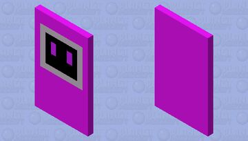 my twitch bot logo cape Minecraft Mob Skin