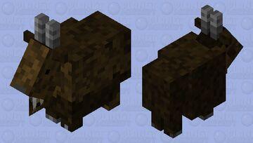 Brown Goat Minecraft Mob Skin