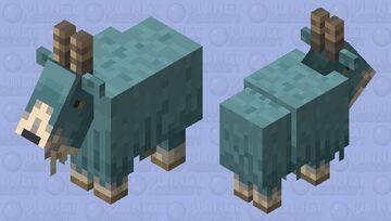 Mountain Goat- Breath of the Wild Goat Minecraft Mob Skin