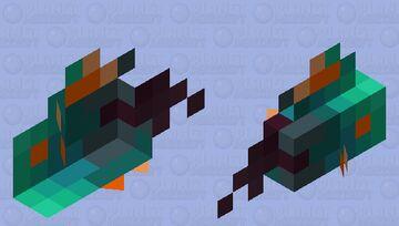 Warped fungi fish Minecraft Mob Skin