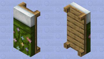 Flower Bed HD Minecraft Mob Skin