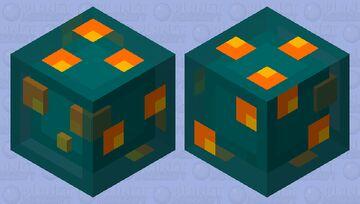 Warped Slime Minecraft Mob Skin