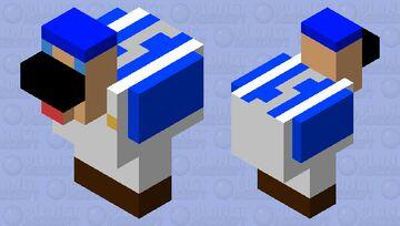 SMG4 Chicken Minecraft Mob Skin