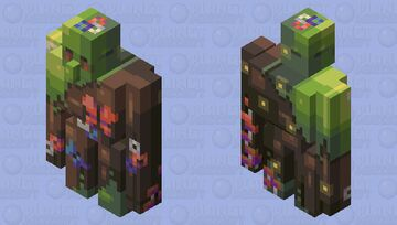 Guardian of the Forest | Happy Earth Day + CE Minecraft Mob Skin
