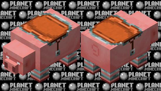Big Pig / white eyes version / Ravager or team illager / remade Minecraft Skin