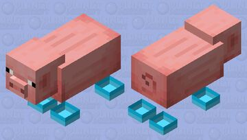 What You've Never Seen A Hovering Pig? Minecraft Mob Skin