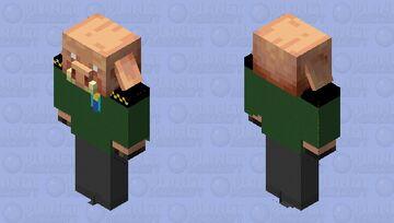 General piglin Minecraft Mob Skin