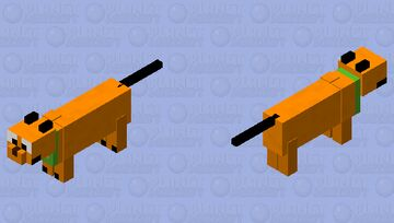 "Pluto ""Dog"" Minecraft Mob Skin"