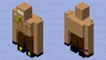 The rich body builder Villager Minecraft Mob Skin
