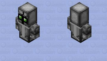 Totem of Soul Protection / From Minecraft Dungeons / 3D version Minecraft Mob Skin