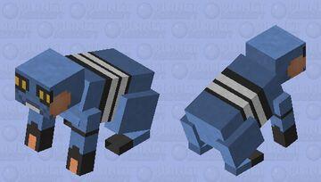 Croagunk - Pokemon Rabbit Replacer Minecraft Mob Skin