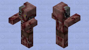 blood pigman (new) Minecraft Mob Skin