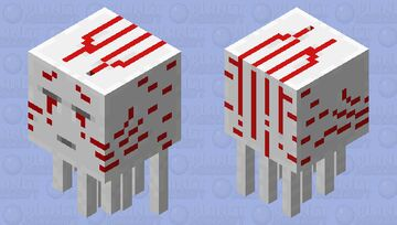 Blood Ghast   ( From The Boiling Blood Union) Minecraft Mob Skin