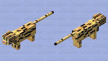 Beater Ocelot 2.0 Minecraft Mob Skin