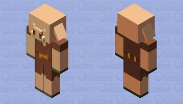 Shaded Piglin Minecraft Mob Skin