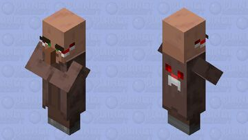 Its Me, Xillager Minecraft Mob Skin