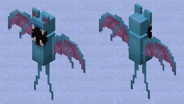 Zubat Design Minecraft Mob Skin