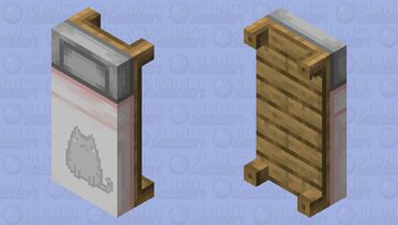 pusheen bed Minecraft Mob Skin
