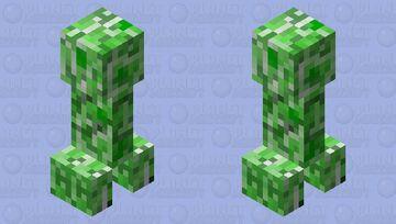 April Fools Creeper Minecraft Mob Skin
