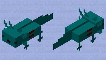 shark axolotl Minecraft Mob Skin