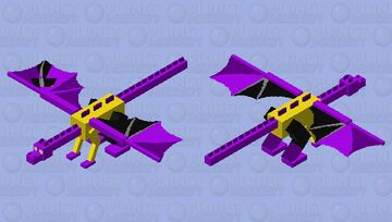 This That as the ender dragon Minecraft Mob Skin