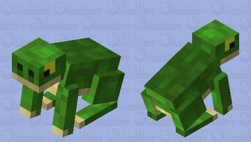 Frog / (for the tadpole) Minecraft Mob Skin