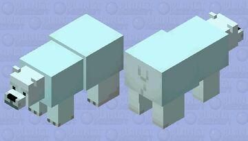 Kermode spirit bear river mob skin Minecraft Mob Skin