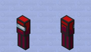 Among Us Red Minecraft Mob Skin