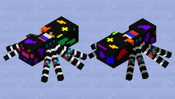 спецназ россии паук пещера 0 Minecraft Mob Skin