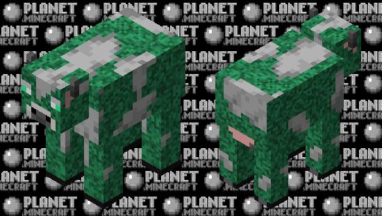 Glow cow Minecraft Skin