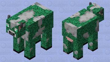 Glow cow Minecraft Mob Skin