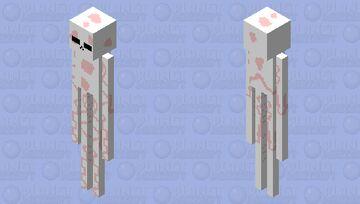 Strawberry Enderman Minecraft Mob Skin