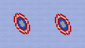 Captain America Shield Minecraft Mob Skin