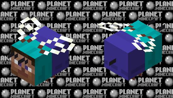 Steve Bee Minecraft Skin