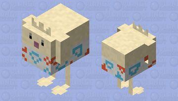 Togepi - Pokemon Chicken Replacer Minecraft Mob Skin