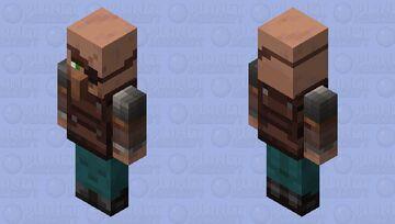 Villager Brute(Re Texturing) Minecraft Mob Skin