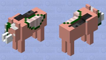 Tamable Zoglin Minecraft Mob Skin