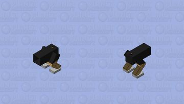 Mega Cannon (It can destroy the entire world) Minecraft Mob Skin