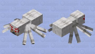 Wolf spider (and not what you are thinking) Minecraft Mob Skin