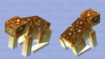 Totem of undying frog Minecraft Mob Skin