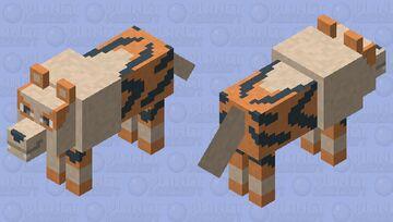 Arcenine - Pokemon Wolf Replacer Minecraft Mob Skin